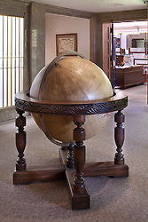 Antique large floor globe
