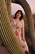 """Portrait of """"Dee"""", Sonoran Desert, 2012."""