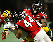 Vic Beasley sacks Aaron Rodgers