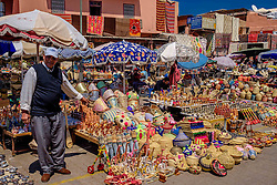 General view of a market square in Marrakech, Morocco, North Africa<br /> <br /> (c) Andrew Wilson | Edinburgh Elite media