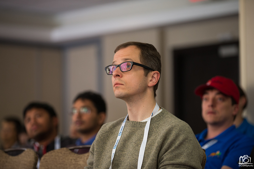 The Linux Foundation hosts its Vault Summit 2017 at the Hyatt Regency Cambridge in Cambridge, Massachusetts, on March 22, 2017. (Stan Olszewski/SOSKIphoto)