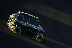 September 14, 2018 - Las Vegas, Nevada, United States of America - Jimmie Johnson (48) brings his car through the turns during qualifying for the South Point 400 at Las Vegas Motor Speedway in Las Vegas, Nevada. (Credit Image: © Chris Owens Asp Inc/ASP via ZUMA Wire)