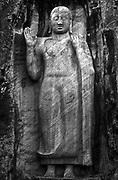 Sesseruwa statue.