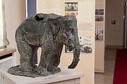 Dauerausstellung Geschichte des Hotels im Hotel Elephant, Weimar, Thüringen, Deutschland   exhibition in Hotel Elephant, Weimar, Thuringia, Germany