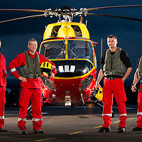Philips Search & Rescue Trust, Hamilton, Westpac rescue helicopter, Waikato Hospital hangar, Hamilton Airport, New Zealand, Wednesday 20 August 2014.  Photo: Stephen Barker / Barker Photography.  ©Philips Search & Rescue Trust