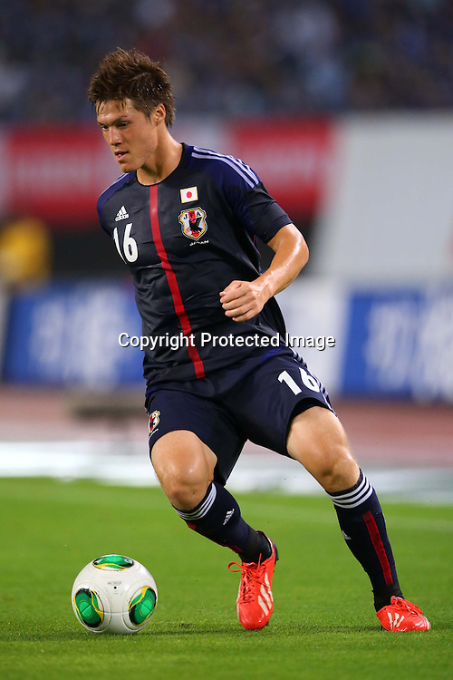 Gotoku Sakai (JPN), AUGUST 14, 2013 - Football / Soccer : <br /> KIRIN Challenge Cup 2013 match <br /> between Japan 2-4 Uruguay <br /> at Miyagi Stadium, Miyagi, Japan.<br />  (Photo by AFLO SPORT)