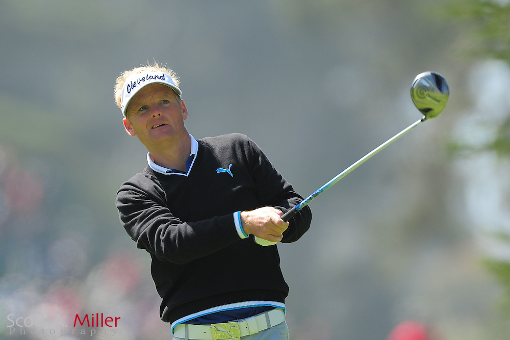 Soren Kjeldsen during the second round of the 112th U.S. Open at The Olympic Club on June 15, 2012 in San Fransisco. ..©2012 Scott A. Miller
