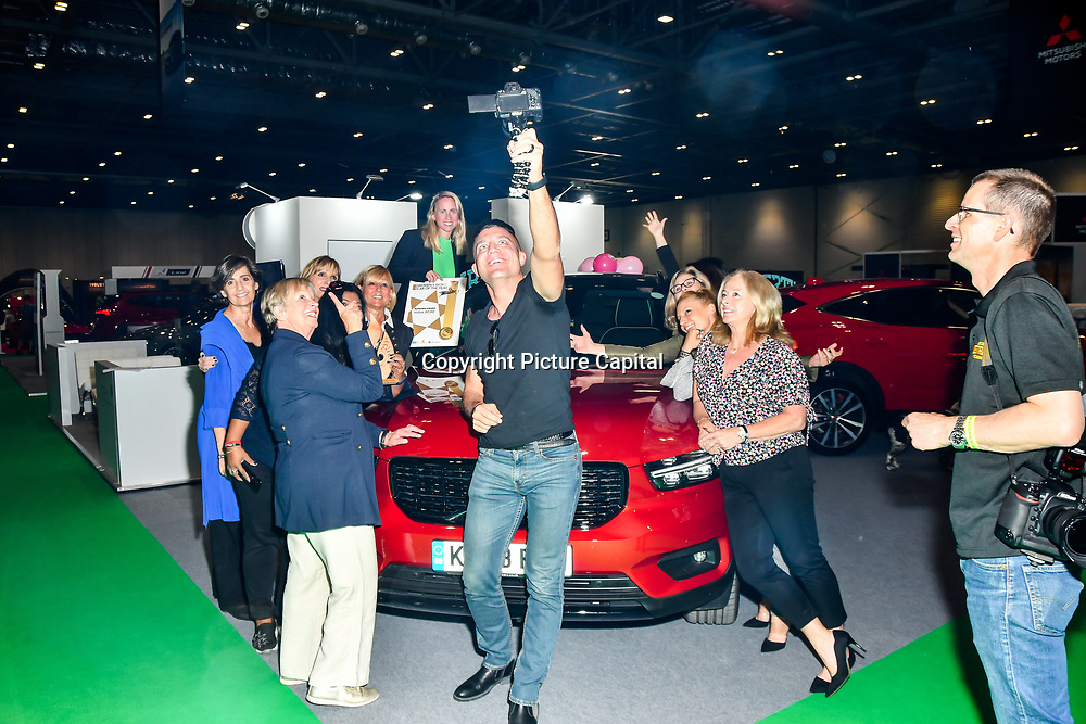 Female motoring journalists from 11 countries attend the London Motor & Tech Show‎ opening day on 16 May 2019, at Excel London, UK.