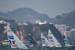 SEGUIN Damien, FRA, 1 Person Keelboat, 2.4mR, Sailing, Voile, BUGG Matthew, AUS, REIGER Sven, AUT, SMITH Dee, USA, ROSA Nuno, BRA à Rio 2016 Paralympic Games, Brazil