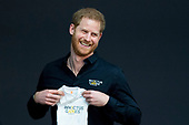Prins Harry in Den Haag voor Invictus Games 2020