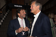 ROCCO FORTE; CHARLES DELEVIGNE, The Brown's Hotel Summer Party hosted by Sir Rocco Forte and Olga Polizzi, Brown's Hotel. Albermarle St. London. 14 May 2015