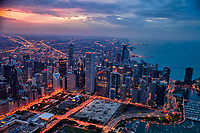 Chicago Metropolis & Lake Michigan