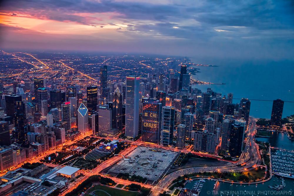 Chicago Metropolis & Lake Michigan