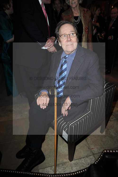 The EARL OF SNOWDON at the Linley Christmas Party and launch of the book 'Star Pieces' by David Linley, Charles Cator and Helen Chislett held at Linley, 60 Pimlico Road, London on 18th November 2009.