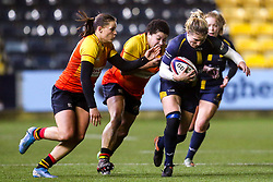 Lydia Thompson of Worcester Warriors Women - Mandatory by-line: Robbie Stephenson/JMP - 11/01/2020 - RUGBY - Sixways Stadium - Worcester, England - Worcester Warriors Women v Richmond Women - Tyrrells Premier 15s
