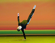 BBC Young Dancer 2015 <br /> at Sadler's Wells, London, Great Britain <br /> 8th May 2015 <br /> <br /> Grand Final <br /> TX Saturday 7pm on 9th May 2015 <br /> <br /> <br /> Connor Scott - Contemporary <br /> WINNER <br /> <br /> <br /> Photograph by Elliott Franks <br /> Image licensed to Elliott Franks Photography Services