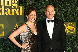 © Licensed to London News Pictures. 13/11/2016. London, UK, Patrick Stewart, Evening Standard Theatre Awards, Photo credit: Richard Goldschmidt/LNP