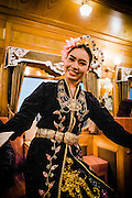 Malaysian cultural performance on the Eastern & Oriental Train