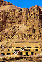 Temple of Queen Hatshepsut, near the Valley of the Kings, near Luxor, Egypt