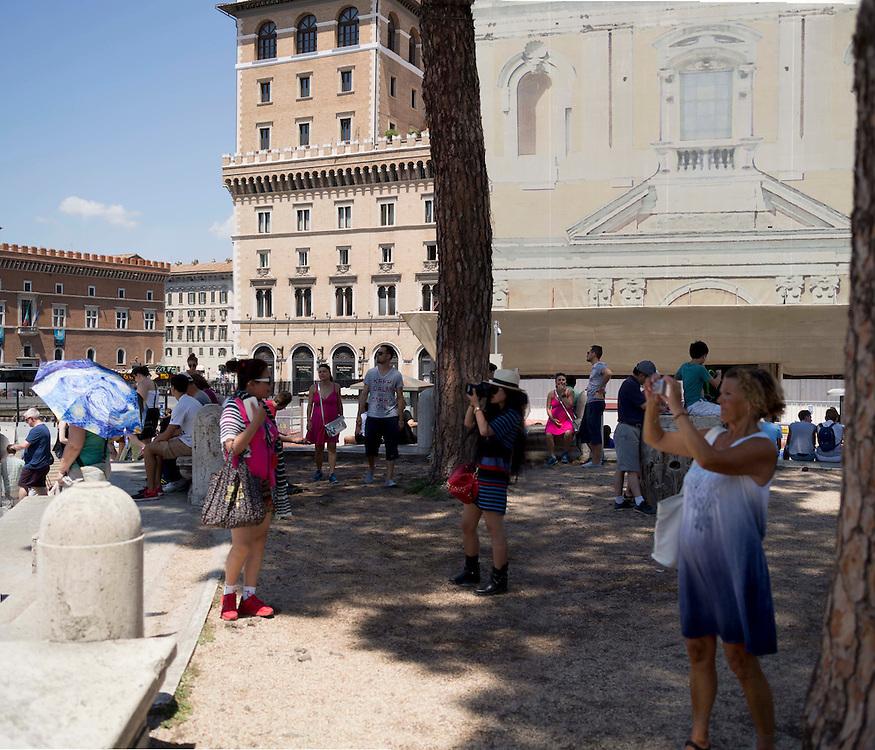 turisti a Roma, Tourists in Rome