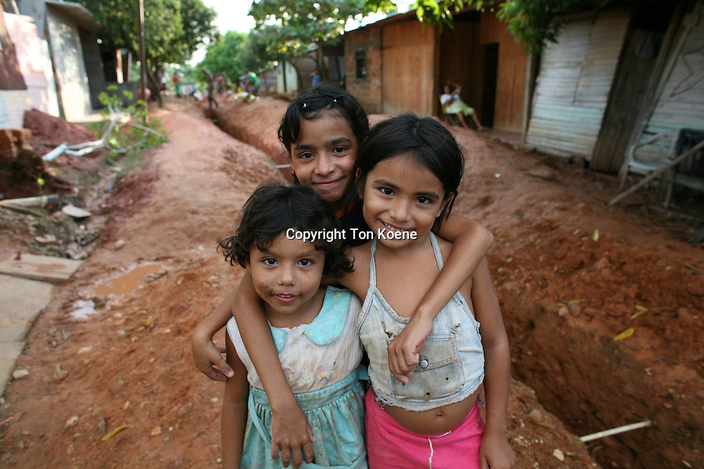 slum inhabitants in Colombia