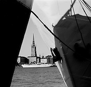 Black and White photography.  WORLDWIDE COPYRIGHT © Romano P. Riedo | fotopunkt.ch... Daily Life. Travelling Europe: Stockholm, Sweden. © Romano P. Riedo