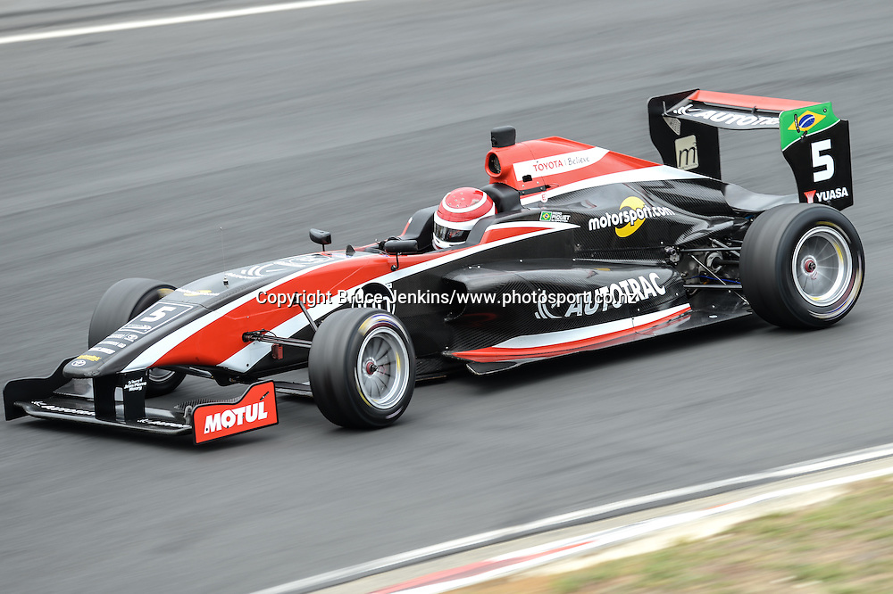 Pedro Piquet during qualifying for race 1 Toyota Racing Series at Round 3, Hampton DownsJanuary 30 2016.