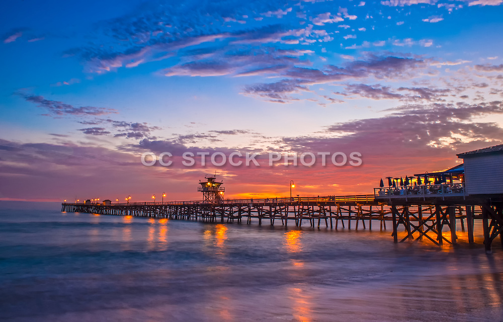 An Evening at the San Clemente Pier