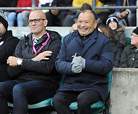 Rugby Union - 2019 Killick Cup - Barbarians vs. Fiji<br /> <br /> Barbarians head coach Eddie Jones (right) with John Mitchell (left), at Twickenham.<br /> <br /> COLORSPORT/ANDREW COWIE