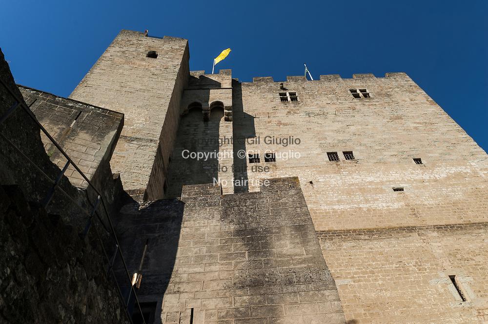 France, Auvergne-Rhône-Alpes, Drôme (26), tour medieval de Crest (52 mètre)  // France,  Auvergne Rhone Alpes region, department of Drome, medieval tower (174 feets))