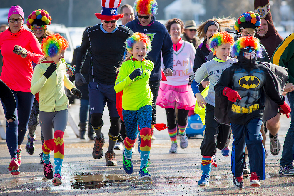 The Fruit Loop Fun Run as part of the Fish Creek Winter Festival in Door County, Wisconsin.  Mike Roemer Photo