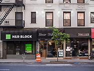 H&R Block, Shear D'Art Salon and Thai@Lex restaurant on Lexington Avenue between 83rd and 84th street.