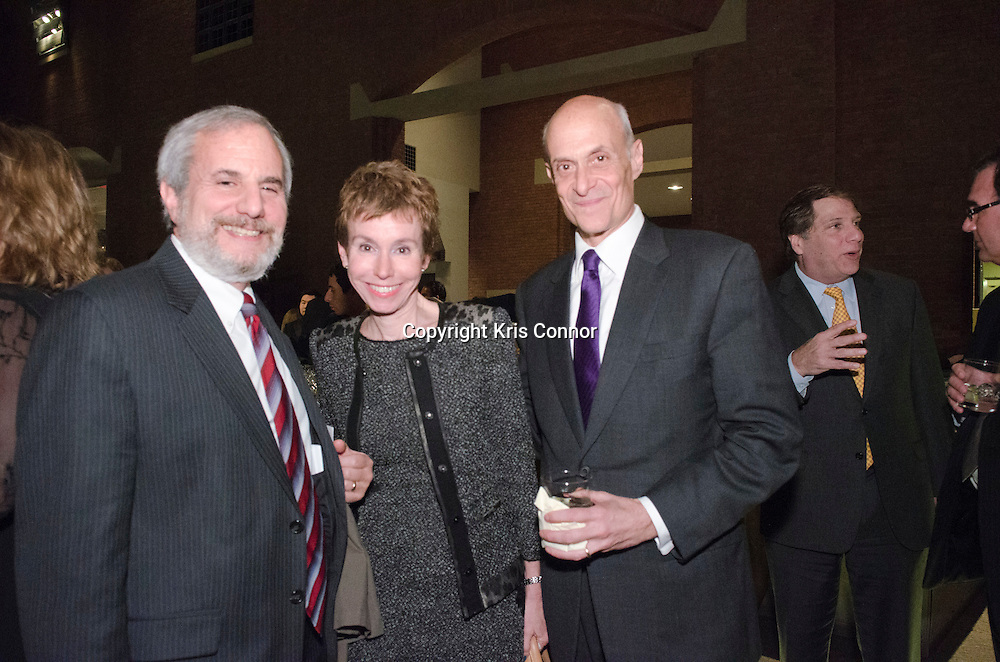 Alex Aleinikoff, Meryl and Michael Chertoff attend the after party for the In The Land of Blood and Honey D.C. Premiere at the United States Holocaust Memorial Museum in Washington DC on January 10, 2012. Photo by Kris Connor for Film District