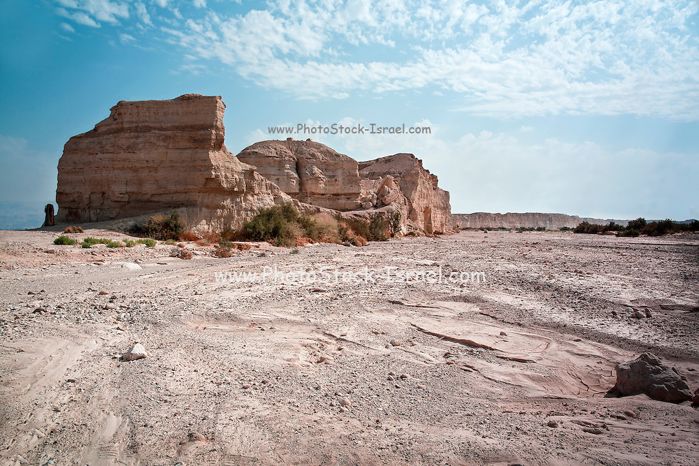 Israel, Sodom, near the southern part of the Dead Sea, Eroded rock