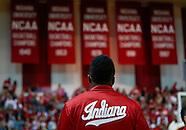 NCAA Basketball - Indiana Hoosiers vs Michigan Wolverines - Bloomington, IN