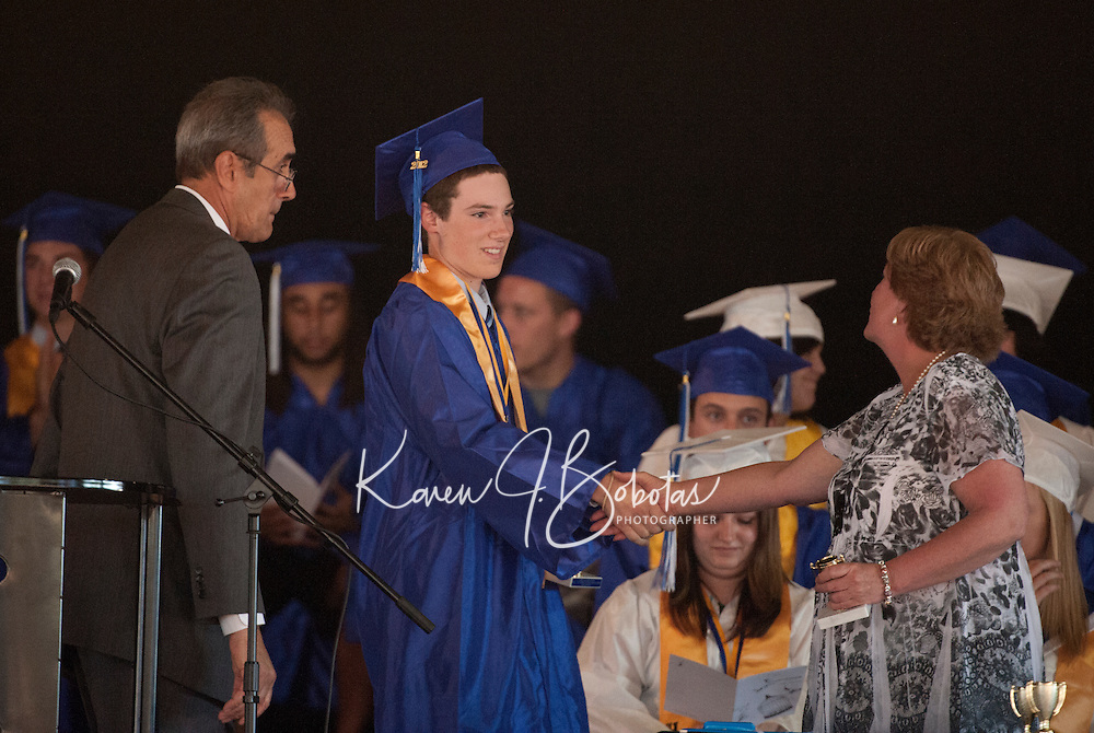 Inter Lakes High School graduation at Meadowbrook Pavilion June 15, 2012.