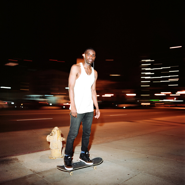 Los Angeles, CA - 2014: Preston Pollard.