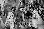 La madre de la novia. The mother of the bride. Varanasi, India.