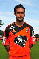 Fabien Robert - 25.09.2014 - Photo officielle Lorient - Ligue 1 2014/2015<br /> Photo : Philippe Le Brech / Icon Sport