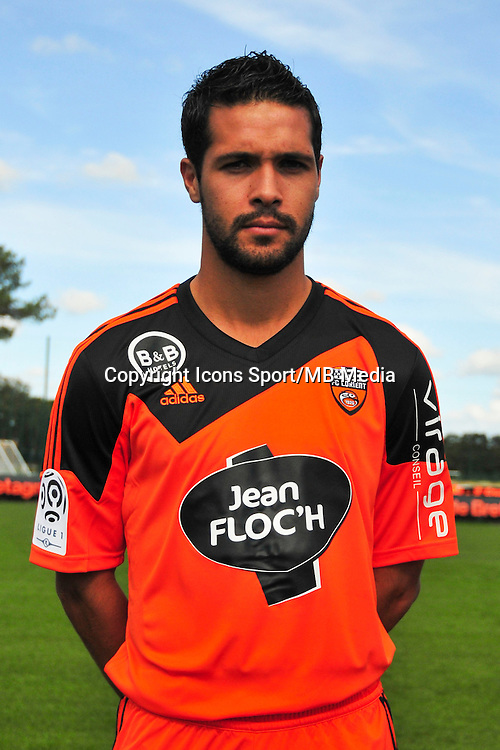 Fabien Robert - 25.09.2014 - Photo officielle Lorient - Ligue 1 2014/2015<br /> Photo : Philippe Le Brech / Icon Sport