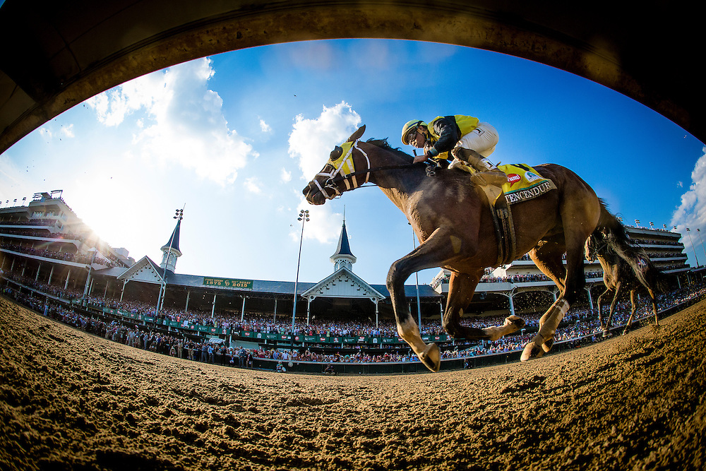 May 02, 2015: Tencendur races in the Kentucky Derby at Churchill Downs Louisville Ky. Alex Evers/ESW/CSM