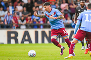 Adam Hammill of Scunthorpe United (11) in action during the Pre-Season Friendly match between Scunthorpe United and Leicester City at Glanford Park, Scunthorpe, England on 16 July 2019.