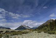 Glacier Moraine, Moraine, Glacier, McCarthy, Kennicott, Wrangell St. Elias National Park, Alaska
