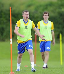 Bristol Rovers' Jordan Goddard - Photo mandatory by-line: Joe Meredith/JMP - Tel: Mobile: 07966 386802 24/06/2013 - SPORT - FOOTBALL - Bristol -  Bristol Rovers - Pre Season Training - Npower League Two