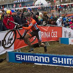01-02-2015: Wielrennen: WK veldrijden: Tabor<br />Lars van der Haar