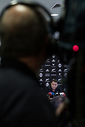 London, England, Uk, November 8 2018 - Steve Hansen, New Zealand rugby union coach and former rugby union player, hold a press conference 2 days before England-NZ Autumn test match in London.