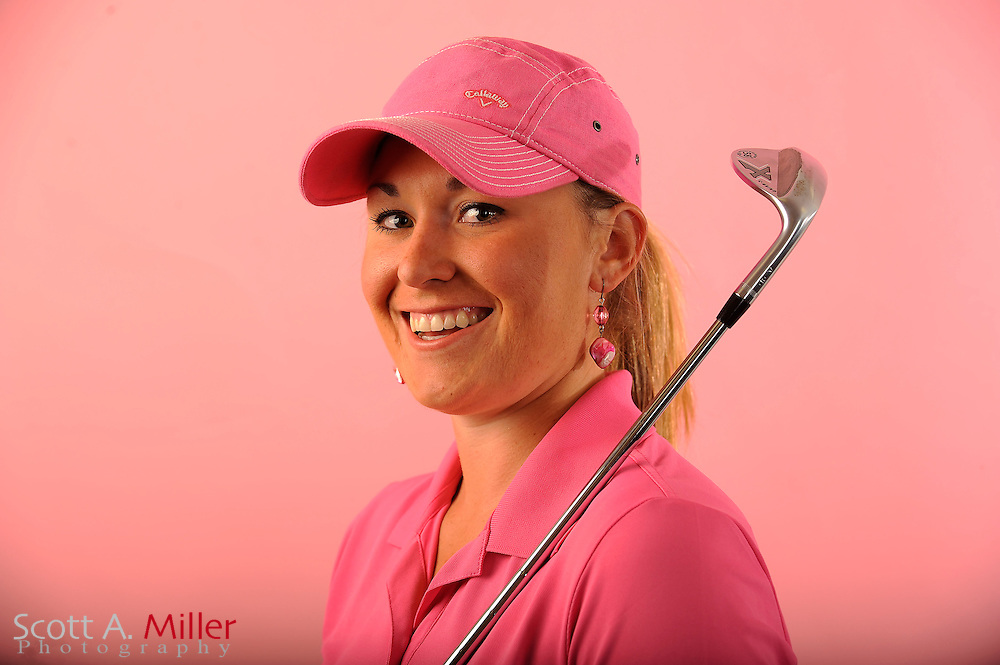 Kristin Walla during a portrait shoot prior to the Symetra Tour's Florida's Natural Charity Classic at the Lake Region Yacht and Country Club on March 21, 2012 in Winter Haven, Fla. ..©2012 Scott A. Miller.