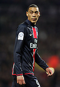 Guillaume Hoarau of PSG. Toulouse v Paris St Germain,French Ligue 1, Stade Municipal, Toulouse, France, 22nd March 2009.