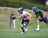 Ole Miss' spring practice in Oxford, Miss. on Friday, March 23, 2012. (AP Photo/Oxford Eagle, Bruce Newman)