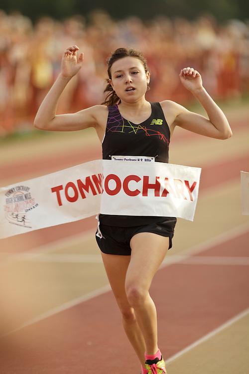 Falmouth Road Race: invitational mile, High School Girls winner Blackman